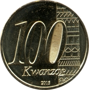 100 Kwanzas (Independence) -  obverse