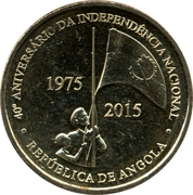 100 Kwanzas (Independence) -  reverse