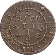 ½ Macuta - Maria I -  reverse