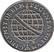 20 Reis - José I – reverse