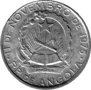 50 Kwanzas (Angolan Kwanza Currency Anniversary) -  obverse