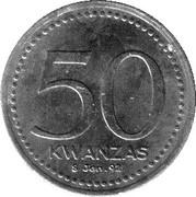 50 Kwanzas (Angolan Kwanza Currency Anniversary) -  reverse