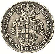 6 Macutas - Maria I & Pedro III – obverse