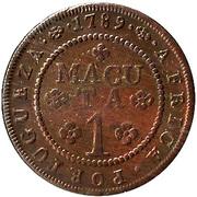 1 Macuta - Maria I -  reverse