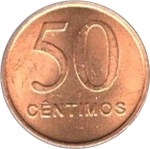 50 Centimos -  reverse