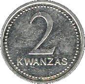 2 Kwanzas – reverse