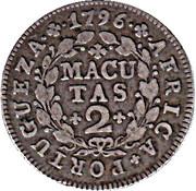 2 Macutas - Maria I -  reverse
