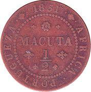 ½ Macuta - Maria II – reverse