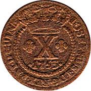 10 Reis - José I – obverse
