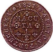 ½ Macuta - Miguel I -  reverse