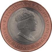 20 Kwanzas (Rainha Njinga) -  obverse
