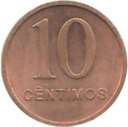 10 Centimos -  reverse