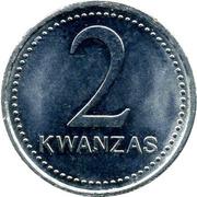 2 Kwanzas -  reverse
