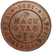 1 Macuta - Miguel I -  reverse