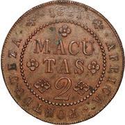 2 Macutas - Miguel I – reverse