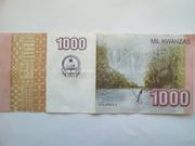 1000 Kwanzas -  reverse