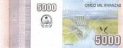 5000 Kwanzas -  reverse