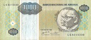 1000 Kwanzas Reajustados -  obverse