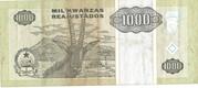 1000 Kwanzas Reajustados -  reverse