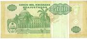 5000 Kwanzas Reajustados – reverse