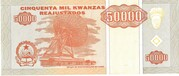 50 000 Kwanzas Reajustados – reverse