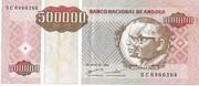 500 000 Kwanzas Reajustados – obverse