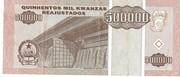 500 000 Kwanzas Reajustados – reverse
