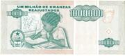 1 000 000 Kwanzas Reajustados -  reverse