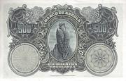 500 Angolares – reverse