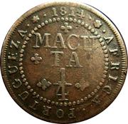 ¼ Macuta - João Prince Regent – reverse