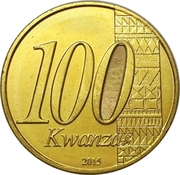 100 Kwanzas (Independence) – obverse