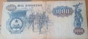 1 000 Kwanzas – reverse