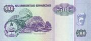 500 Kwanzas – reverse