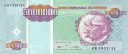 5 000 000 Kwanzas Reajustados – obverse