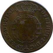 2 Macutas - Maria II (countermarked 1 Macuta) – obverse