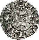 Denier- Hugues X (1208-1249) – obverse