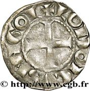 Denier- Hugues X (1208-1249) – reverse