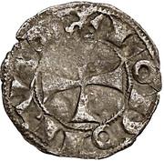 Denier anonyme Comté d'Angoulême au nom de louis IV d'Outremer (936-954) – obverse