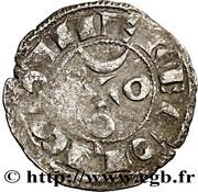 Denier anonyme Comté d'Angoulême au nom de louis IV d'Outremer (936-954) – reverse