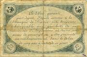 50 centimes - Chambre de commerce d'Angoulème [16] – reverse