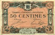 50 centimes - Chambre de commerce d'Angoulème [16] <2ème série> – obverse