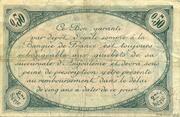 50 centimes - Chambre de commerce d'Angoulème [16] <2ème série> – reverse