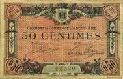 50 centimes - Chambre de commerce d'Angoulème [16] <3ème série> – obverse