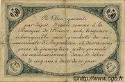 50 centimes - Chambre de commerce d'Angoulème [16] <3ème série> – reverse