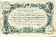 50 centimes - Chambre de commerce d'Angoulème [16] <5ème série> – reverse
