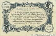 50 centimes - Chambre de commerce d'Angoulème [16] <6ème série> – reverse