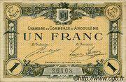1 Franc - Chambre de commerce d'Angoulème [16] <1ère série> – obverse