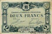 2 francs - Chambre de Commerce d'Angoulême [16] <1er série> – obverse