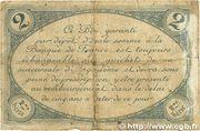 2 francs - Chambre de Commerce d'Angoulême [16] <2ème série> – reverse