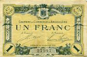 1 franc - Chambre de commerce d'Angoulème [16] <4ème série> – obverse